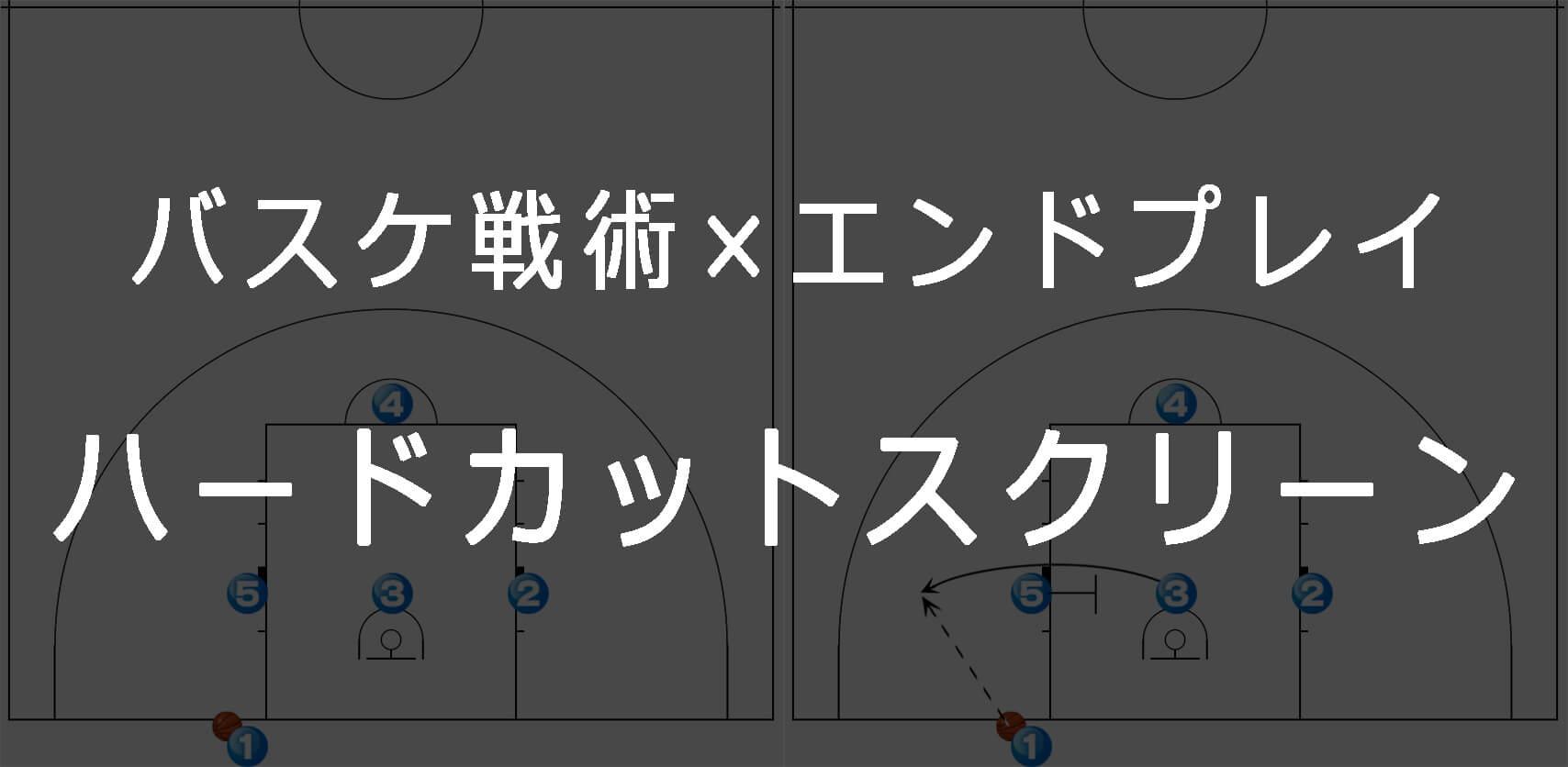 《バスケ×エンドプレイ》ハードカットスクリーンセット
