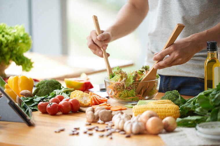 リーンバルクの食事方法