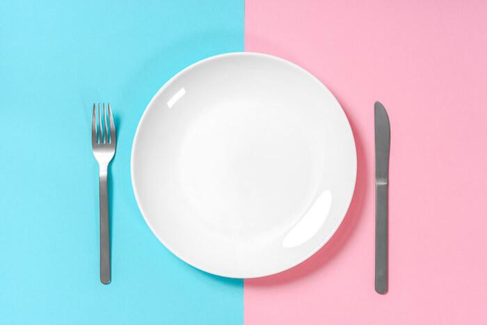 食事制限をしている人
