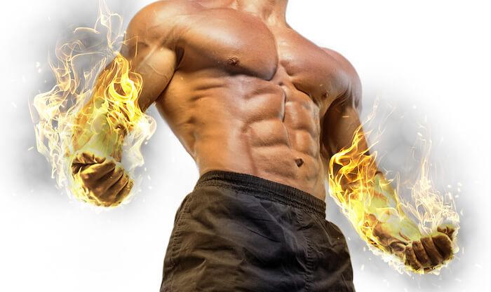 代謝アップで、脂肪を燃焼!