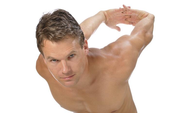 大胸筋のストレッチ方法