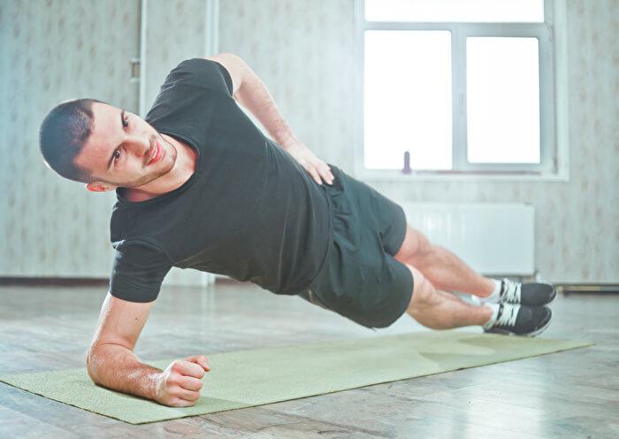 サイドプランクで鍛えることができる筋肉