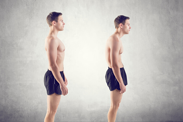 3.姿勢が良くなることで頭痛や肩こりが改善される