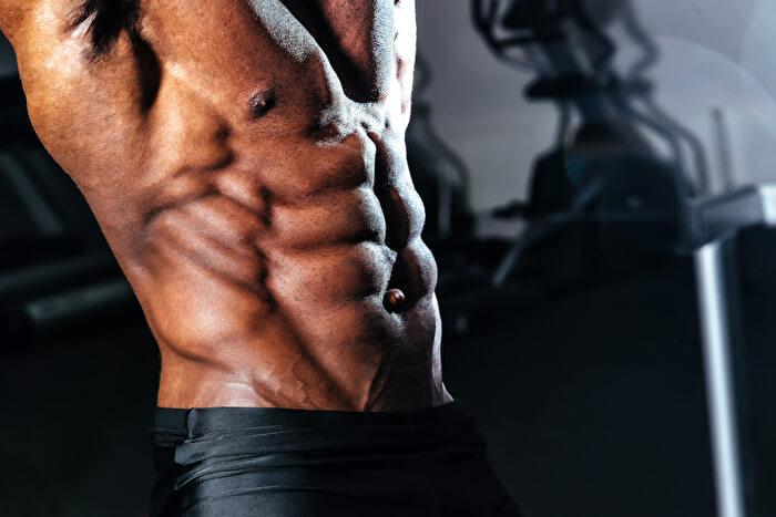 ①腹斜筋の収縮を常に意識する