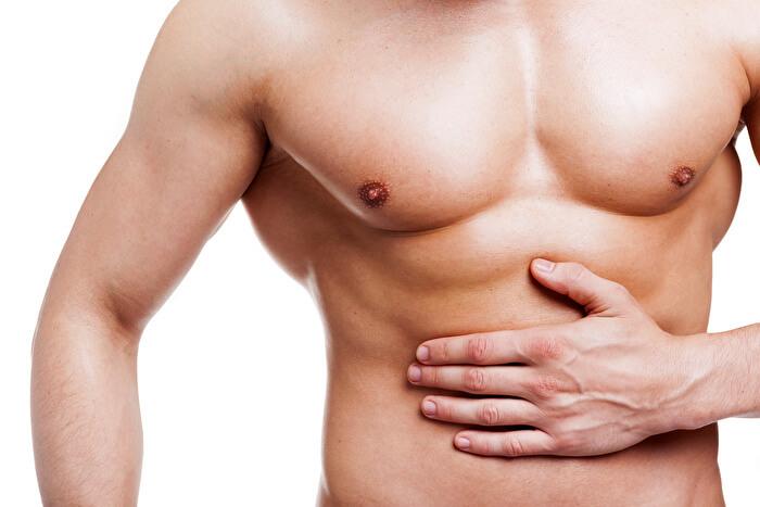 ③腹筋の収縮を意識する