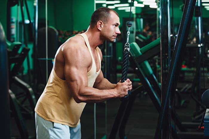 プレスダウンで鍛えることができる筋肉